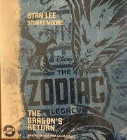 THE ZODIAC LEGACY   THE DRAGON'S RETURN  BY STAN LEE  AUDIO BOOK ON CD