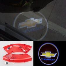 2x Laser LED Door courtesy Projector Light For Chevrolet Epica Captiva 2010-2014