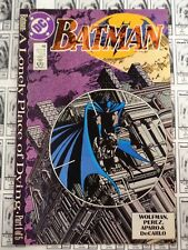 Batman (1940) DC - #440, A Lonely Place of Dying Part 1, Wolfman/Aparo, FN