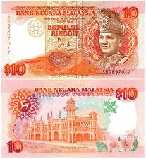 Malaysia 10 Ringgit P#29A (1989) UNC