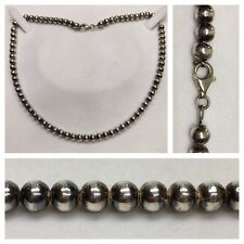 silberkugelkette 925 Plata Joyería Plata Collar Bolas de plata 45cm