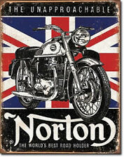 Norton - Best Roadholder  Metal Tin Sign Wall Art