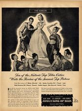 1946 Movie PRINT AD Anna & the King of Siam Linda Durnell Rex Harrison Irene D.