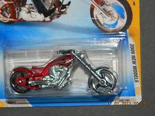 HW HOT WHEELS 2009 NEW MODELS #9 OCC SPLITBACK MOTORCYCLE HOTWHEELS RED VHTF NM