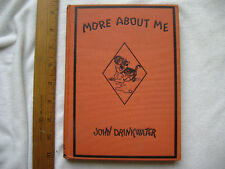 More About Me. 1930 Poems for a Child by John Drinkwater.  NICE!