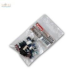 Sortiment Microschalter und Microtaster ca. 30 Stk, Mini-Schalter & Taster