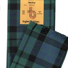 Scarf Clan MacKay Ancient Tartan Ladies Scottish Wool Plaid