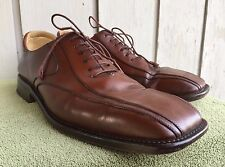 Mezlan Amalfi Oxfords Brown Leather Bicycle Toe Shoes Mens 12 M