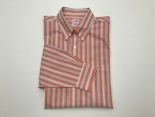 BROOKS BROTHERS 346 NON IRON LONG SLEEVE BUTTON UP SHIRT MENS L NWT MSRP $59.50