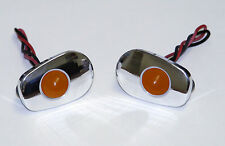 Gregg's Customs LED flush mount turn signals Kawasaki 04-07 ZX10R -polished