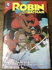 Dc Comics New 52 Robin Son Of Batman Vol 1 Year Of Blood Hardcover New Gleason