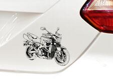 B-King Voiture Moto Autocollant Sticker B King