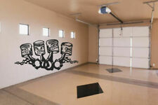 Wall Vinyl Sticker Decals Mural Kids Funy Pistons Garage (Z010)
