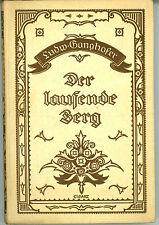 Buch_Ganghofer Der laufende Berg