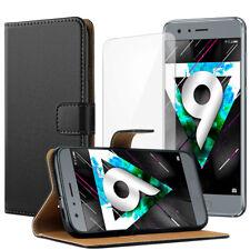 JJPRIME Leather Flip Wallet Phone Case for iPhone Samsung Sony Huawei Moto UK
