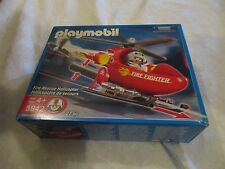 Playmobil #5842 Fire Rescue Helicopter Set