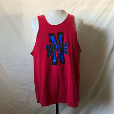 Vintage 90's Nike Tank Top Sz. Large/Xl Vtg Summer Single Stitched Silver Tag