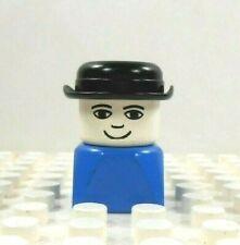 Lego Duplo Figure Dad w/ hat Vintage 1980's