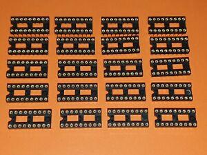 20x IC-Fassung 18-polig Präzisionsfassung / IC-Fassung / IC-Sockel DIL-18