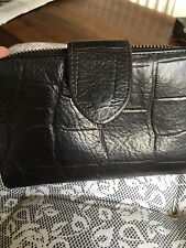 Beautiful Mulberry Vintage Brown Congo 3/4 Zip Leather Purse / Wallet