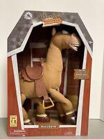 "Disney Store - Toy Story 18"" Interactive Bullseye Plush - Galloping Sounds - NEW"