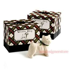 Westie Dog Animal Triple French Milled Soap Plaid Gift Box Set Gianna Rose USA