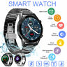 Waterproof Smart Watch Heart Rate Blood Oxygen Monitor for iOS Android iPhone