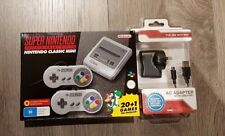 SUPER NINTENDO SNES MINI CLASSIC CONSOLE GAME ENTERTAINMENT EXPRESS + ADAPTER
