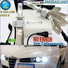 Kit Lampade LED H7 ANABBAGLIANTI Alfa Romeo 159 CANbus Tuning Fari BIANCO GHIACC