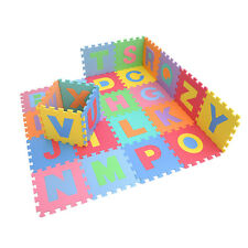 Kids Baby Alphabet/Number Interlocking EVA Foam Floor Mat 26/36 pcs gift