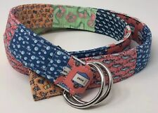 "Cool Vineyard Vines Patchwork Belt Men's Lady's  sz XL? 45"" belt"