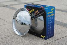 "Baby moon hubcaps 4pcs SET 2084C 14"" chrome wheel cover trim ring"