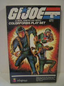Vintage GI Joe Colorforms Play Set 1982   Box sealed !!!!!!!!!!!!