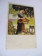 Piacenza - donna - spedita f. p. 1914