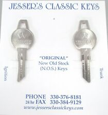MOPAR NOS Original GAS Keys CHRYSLER PLYMOUTH DODGE 60's B-1 Milling Gas Keys