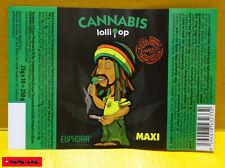 3x XXL CANNABIS LOLLIPOPS - EUPHORIA / THC-free / je 25 Gramm !!! TOP !!!