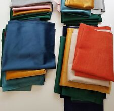 NEW Velvet Remnant Pack Large Remnants Job Lot Bulk Buy 300g Various Colours