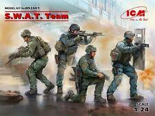 ICM DS2401 SWAT Team (4 Figuren) in 1:24