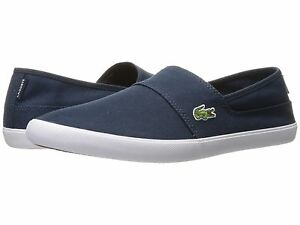 Lacoste Marice BL 2 Men's Croc Logo Casual Slip On Loafer shoes Sneakers Blue