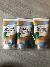 3x St Ives Blemish Fighting Apricot Face Scrub 150ml Naturally Clear, Oil Free