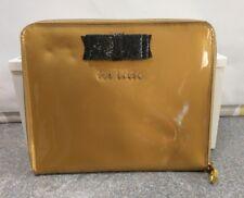 Ted Baker Diseñador Oro Arco Tablet/Ipad caso bolsa # A
