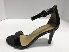 Naturalizer Kinsley Black Snake Print High Heel Pumps/Sandals Women's Size 8.5M