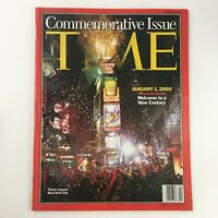 Time Magazine January 1 2000 Commemorative Issue Times Square NY no label, VG