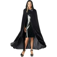 Adult Velvet Cape Black Long Halloween Costume Hyde and Eek Boutique