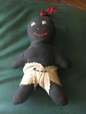 Folk Art African American Baby Doll