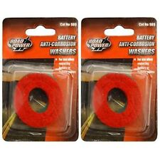 2-PACK (4 Washers) - Road Power 989 Anti-Corrosion Fiber Washers,)