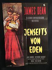 East Of Eden German A1 Movie Poster R1970 James Dean, Julie Harris