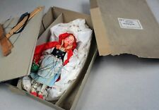 Boxed Marionette-FAO Schwarz-German Little Red Riding Hood-RR Hood-1930s-NTCX