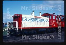 Original Slide SOO Line Special Paint 'Twin Ports Superior' SW9 2119 In 1980