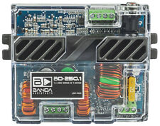 Banda BD250.1 Bd 250.1 One Channel 250 Watts Max @ 4 Ohm Car Audio Amplifier